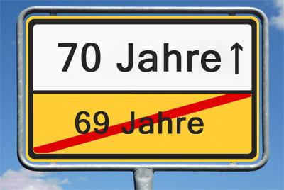 70 Geburtstag Gratulieren Schenken Und Freude Machen
