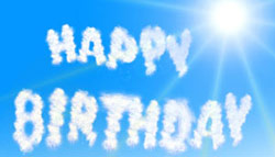 Geburtstagslieder in der Geburtstagswelt