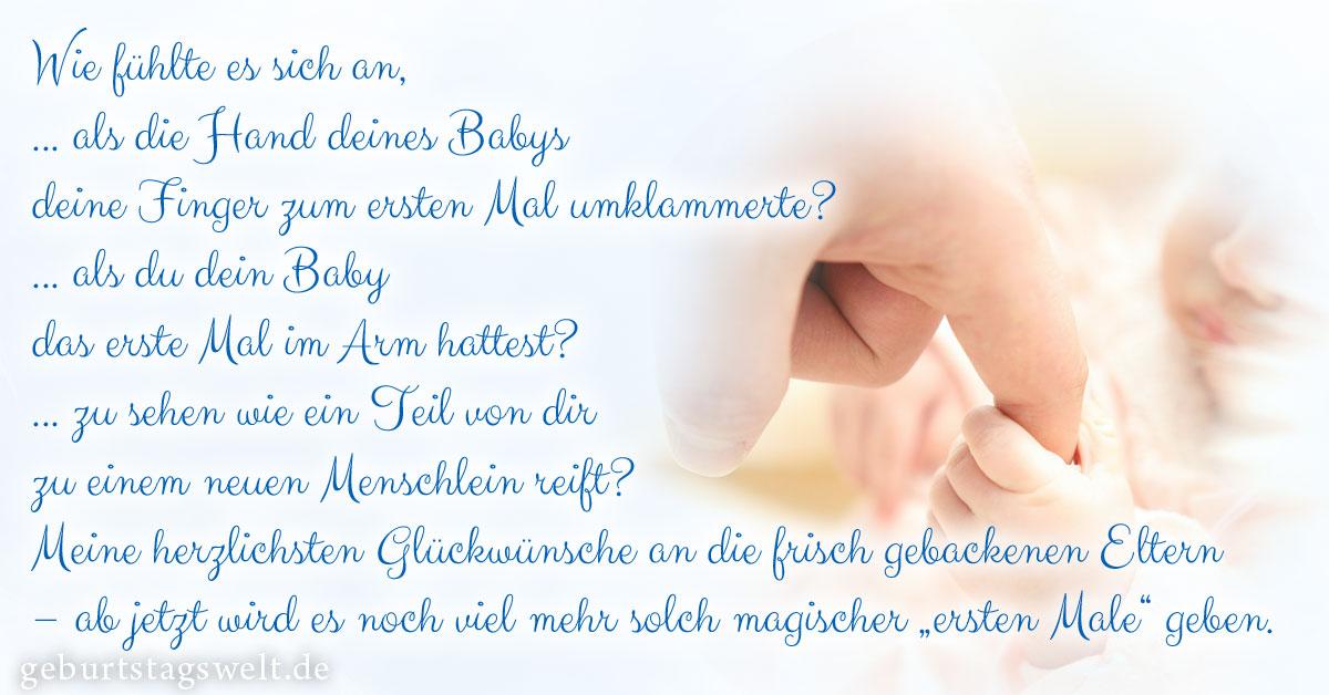 Llᐅ Glückwünsche Zur Geburt Mit Wünschen Gedichten