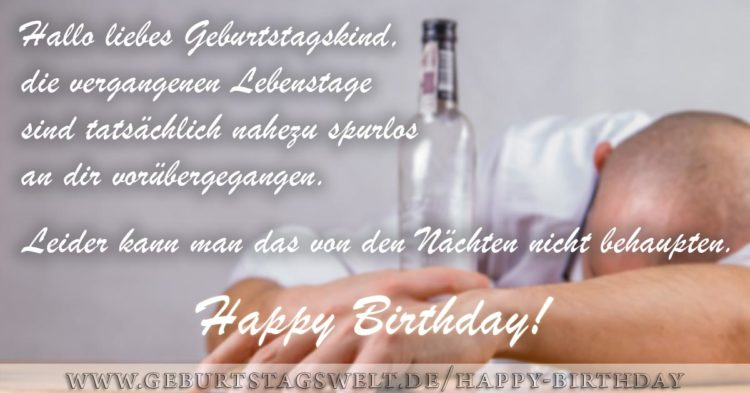 Hallo liebes Geburtstagskind ... Happy Birthday Bild