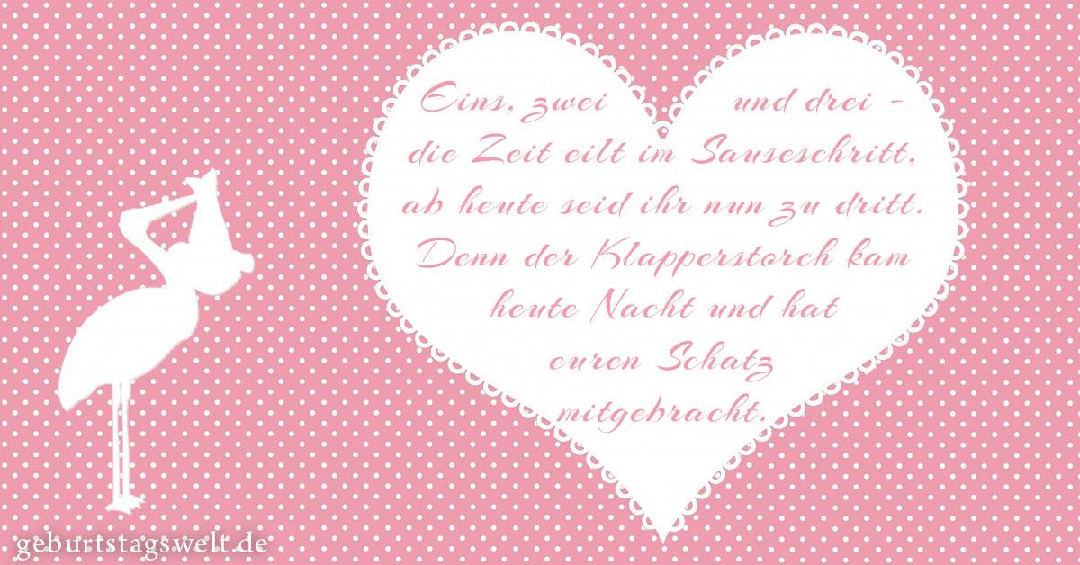 Lieblings llᐅ Glückwünsche zur Geburt - Mit Wünschen & Gedichten neues &OG_01