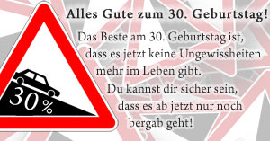 Announced earlier Gedicht 30 Lustig Geburtstag you're planning