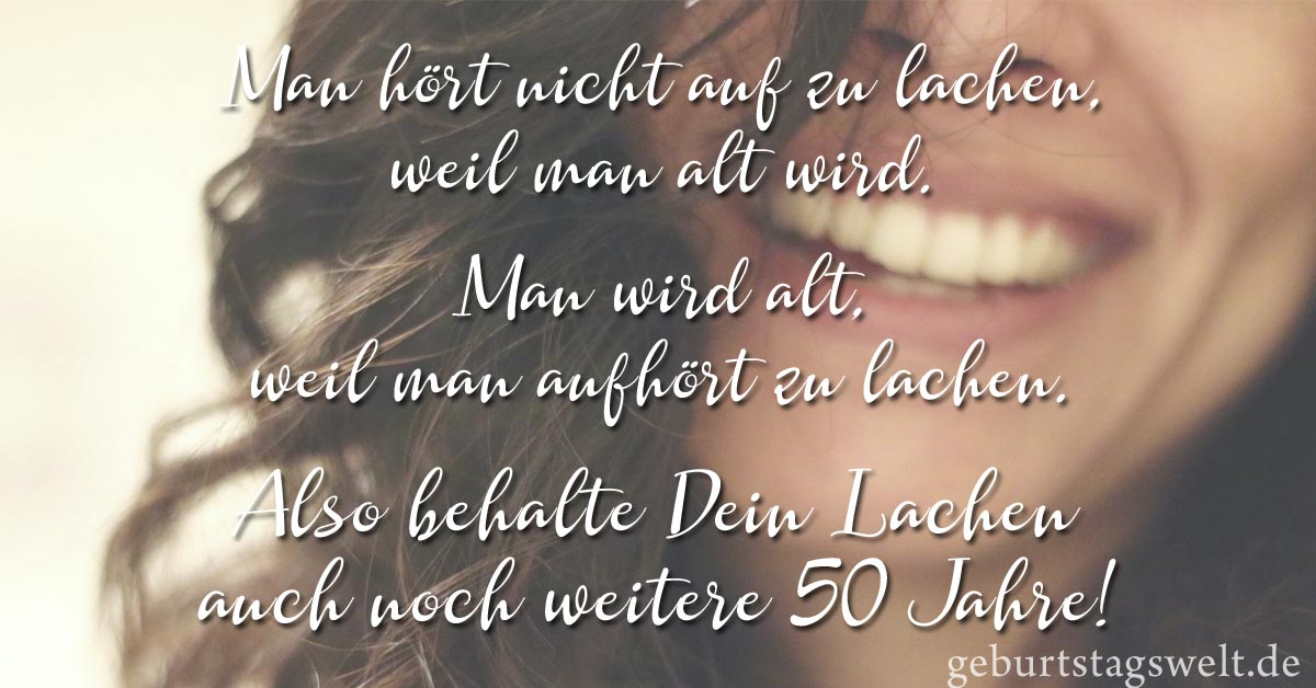 llᐅ Zum 50. Geburtstag   Sprüche, Glückwünsche und Gedichte zum