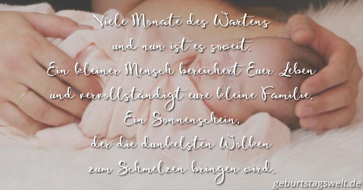 llᐅ Glückwünsche zur Geburt - Mit Wünschen & Gedichten ...